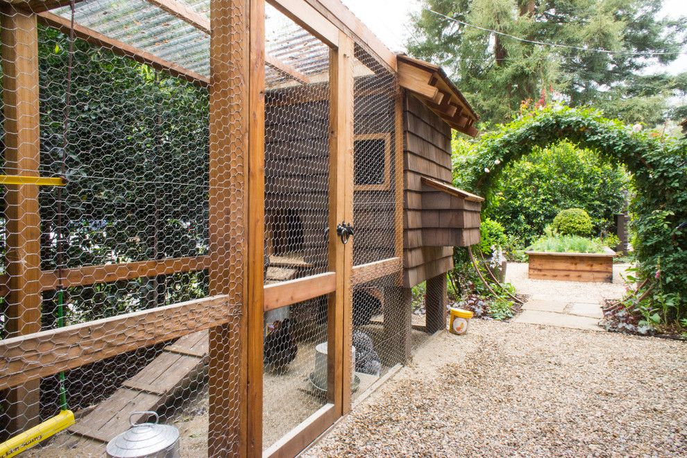 Extraordinary Chicken Wire Fence For Garden Decorating