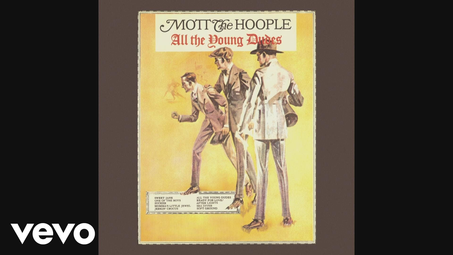 Mott The Hoople All The Young Dudes Audio Odedmusic Odedfriedgaon Audioded Mott The Hoople All The Young Dudes Hoople