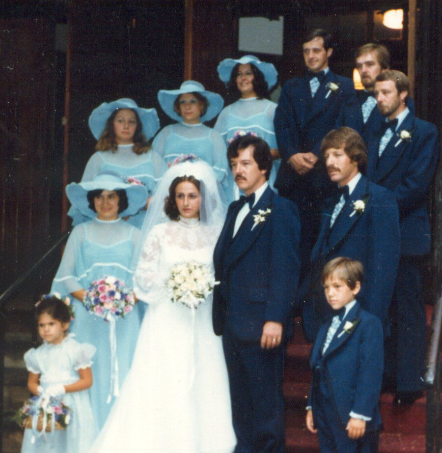 Cool photos with EVOLUTION OF THE BRIDESMAID DRESS | vintage wedding ...