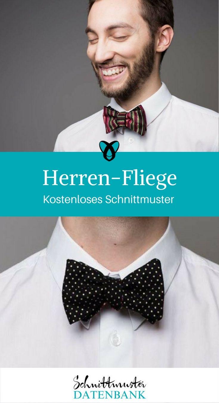 Herren-Fliege Noch keine Bewertung. | Free pattern and Patterns