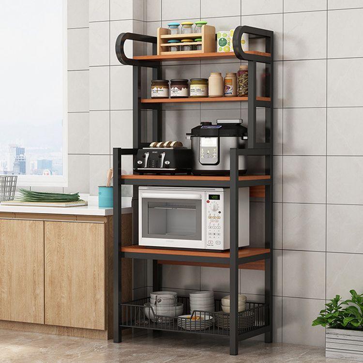 floor stand 5 layer kitchen microwave