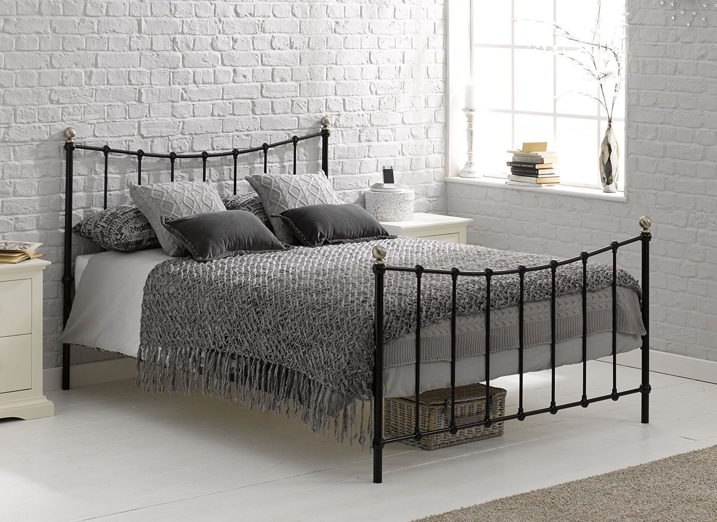 Uncategorized Dreams Metal Beds jasmine black metal bed frame beds frames and finished in a contemporary sleek our is beautifully
