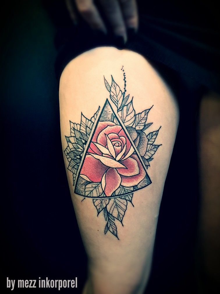 Rose Inkorporel Miramas Tatouage Tattoo Mandala Mezz 2017