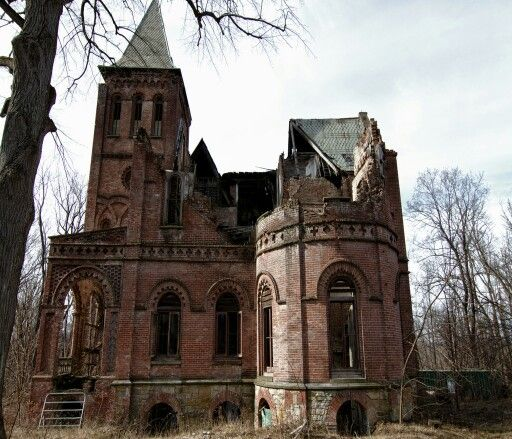 Haunted Places In Galway New York: Windclyffe Mansion New York State