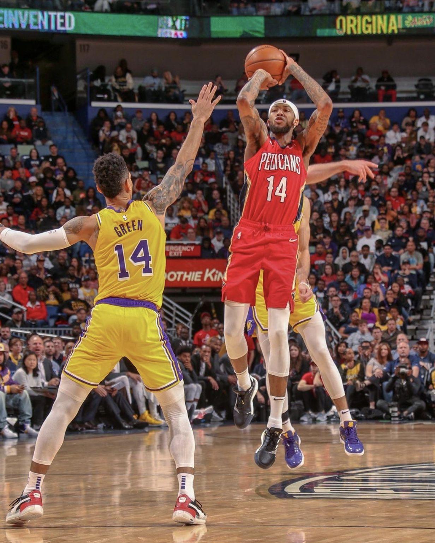 Brandon Ingram Against His Former Team For The First Time Brandon Ingram New Orleans Pelicans New Orleans