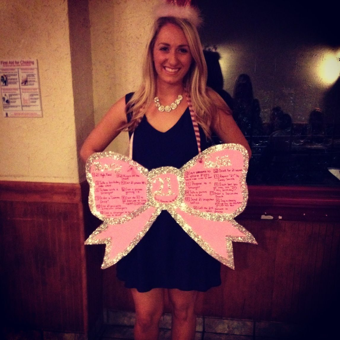 22nd Birthday Bash Abby And Brittany: My Perfect 21st Birthday Sign! Minus The Glitter So I Don