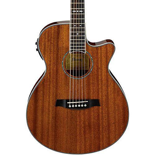 Ibanez Aeg12ii Nt Acoustic Electric Guitar Acoustic Electric Guitar Ibanez Guitars Ovation Guitar