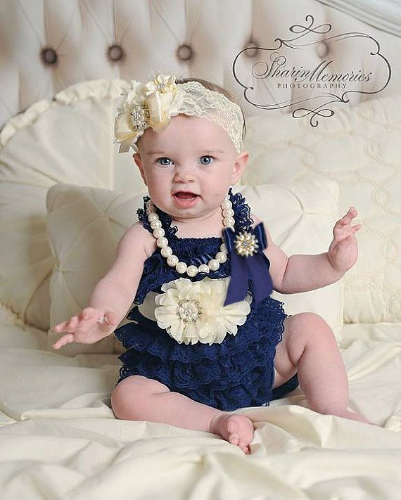 58c109dc5541a Baby Girl OutfitsLace RomperBaby от OohLaLaDivasandDudes на Etsy ...