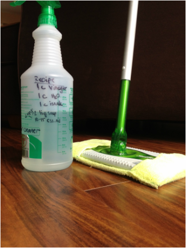 Floor Cleaner For Laminates 1 Cup White Vinegar 1 Cup