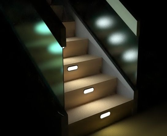 stair lighting. stair lighting interior u2013 staircase