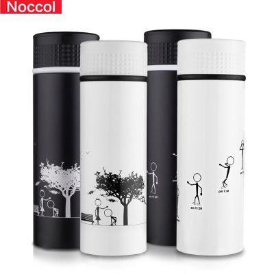 756991a690 Noccol Metal Thermos 300ml Durable 18/8 Stainless Steel Thermal Bottle  Insulated Portable Coffee Thermos Water Bottle