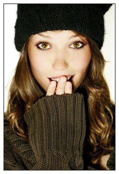 #brunette love the eye makeup