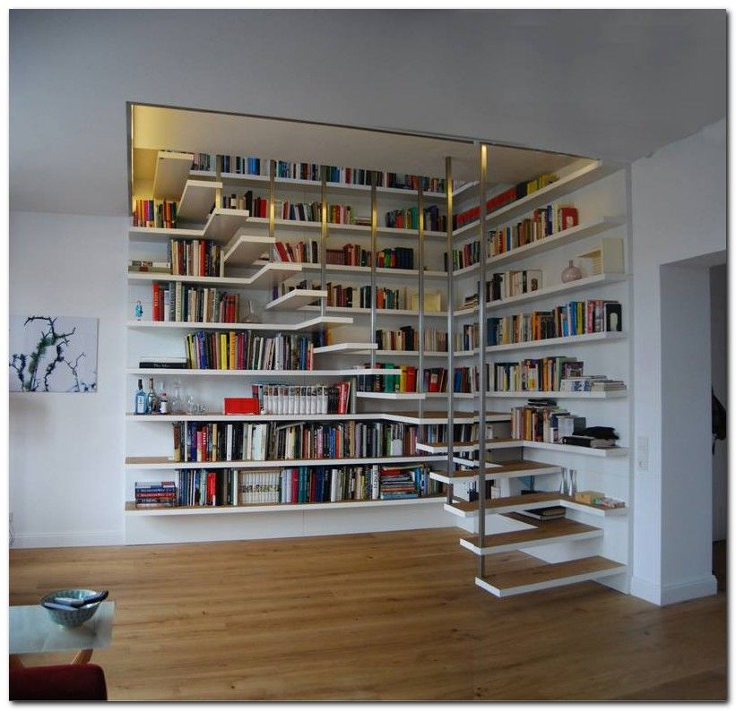 99 Bookshelf Ideas To Make Your Small Apartment Look Classy In