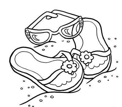 SUMMERY SUMMER COLORING PAGES LOTS OF PICTURES TO COLOR