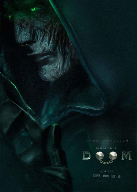 doctor doom movie poster moviestv shows pinterest