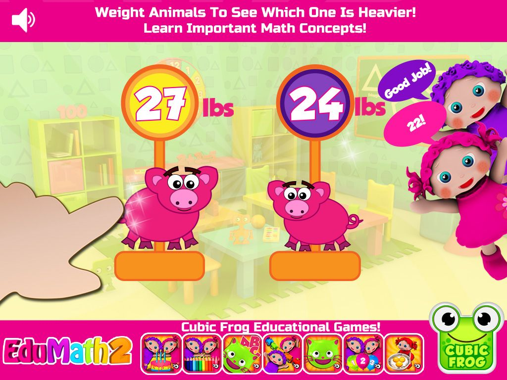 Toddlers and Preschoolers learn about size and quantity in