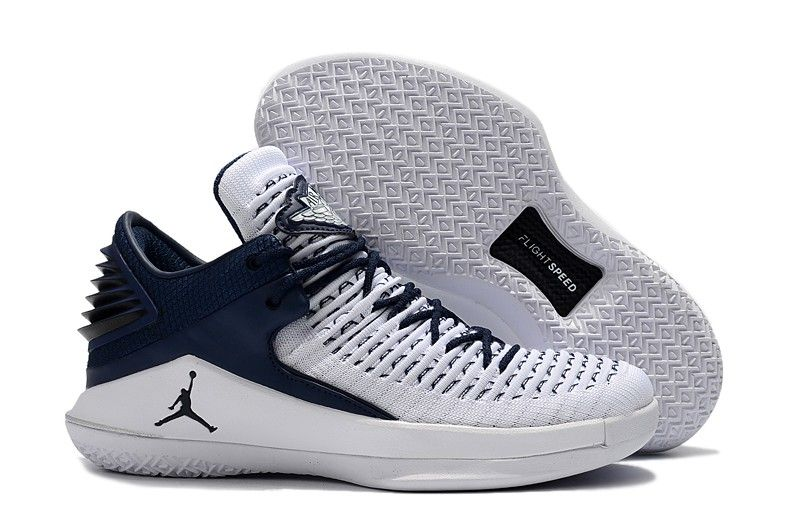 2a9576d699b5 Air Jordans 2018 Jordan 32 Low White Midnight Navy in 2019 ...