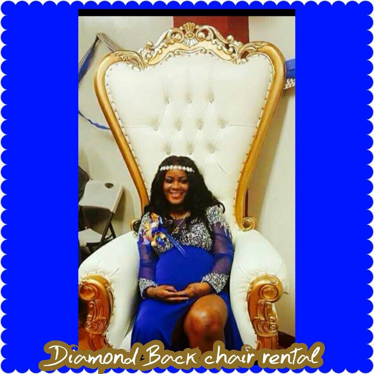 Diamond back chair rentals