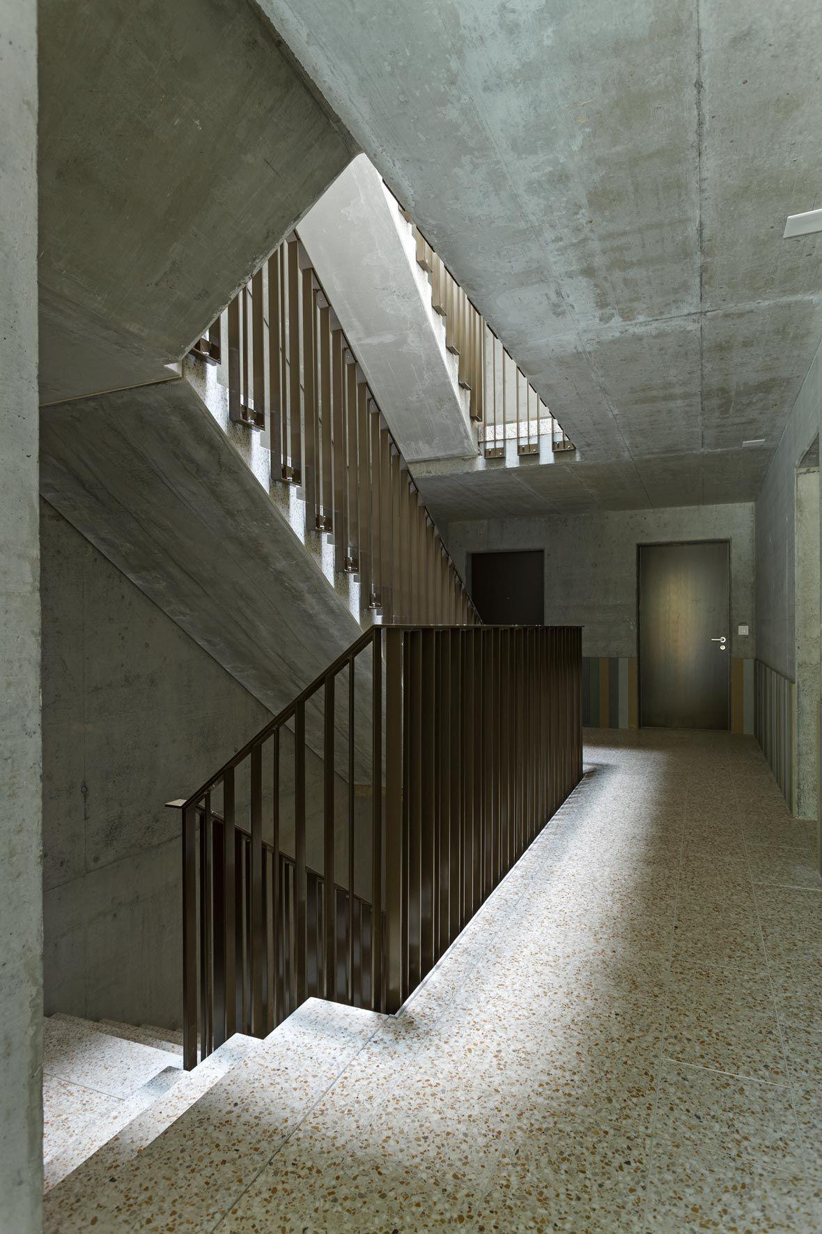 Treppenhaus architektur  pool Architekten, Wohnhaus Limmattalstrasse | wohnsiedlung ...