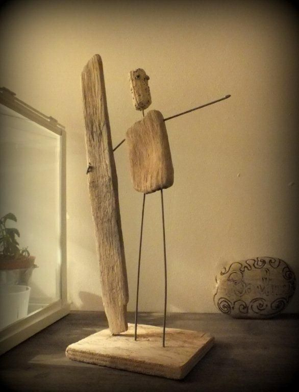 art vend e cr ations bois flott scupture pinterest driftwood driftwood art et driftwood. Black Bedroom Furniture Sets. Home Design Ideas