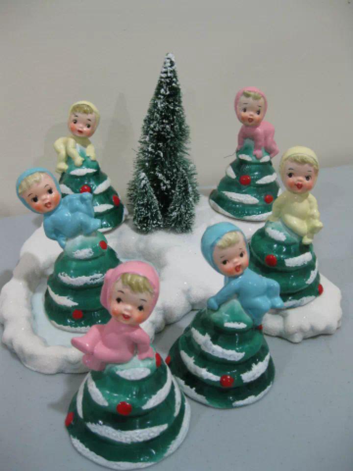 lefton holiday pottery vintage