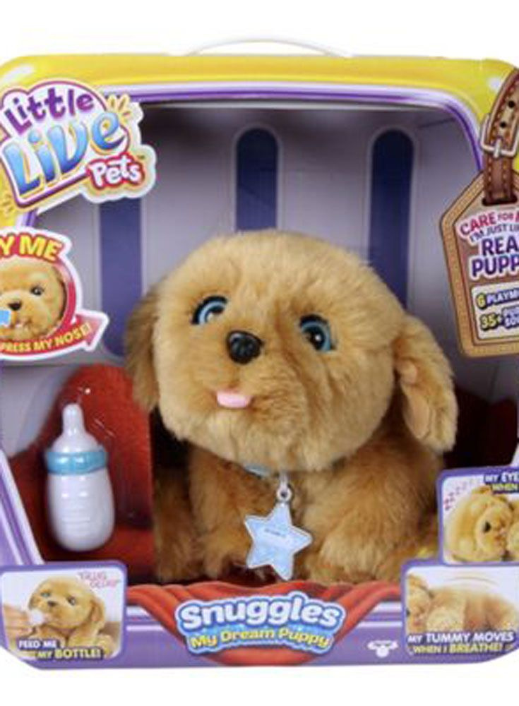 The Dream Toys That Will Be On Every Child S Christmas List Little Live Pets Puppy Snuggles Puppy Soft Toy