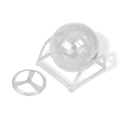 Van Ness Hamster Ball With Stand Clear Dog Toys Dog Chew Toys Dog Diapers