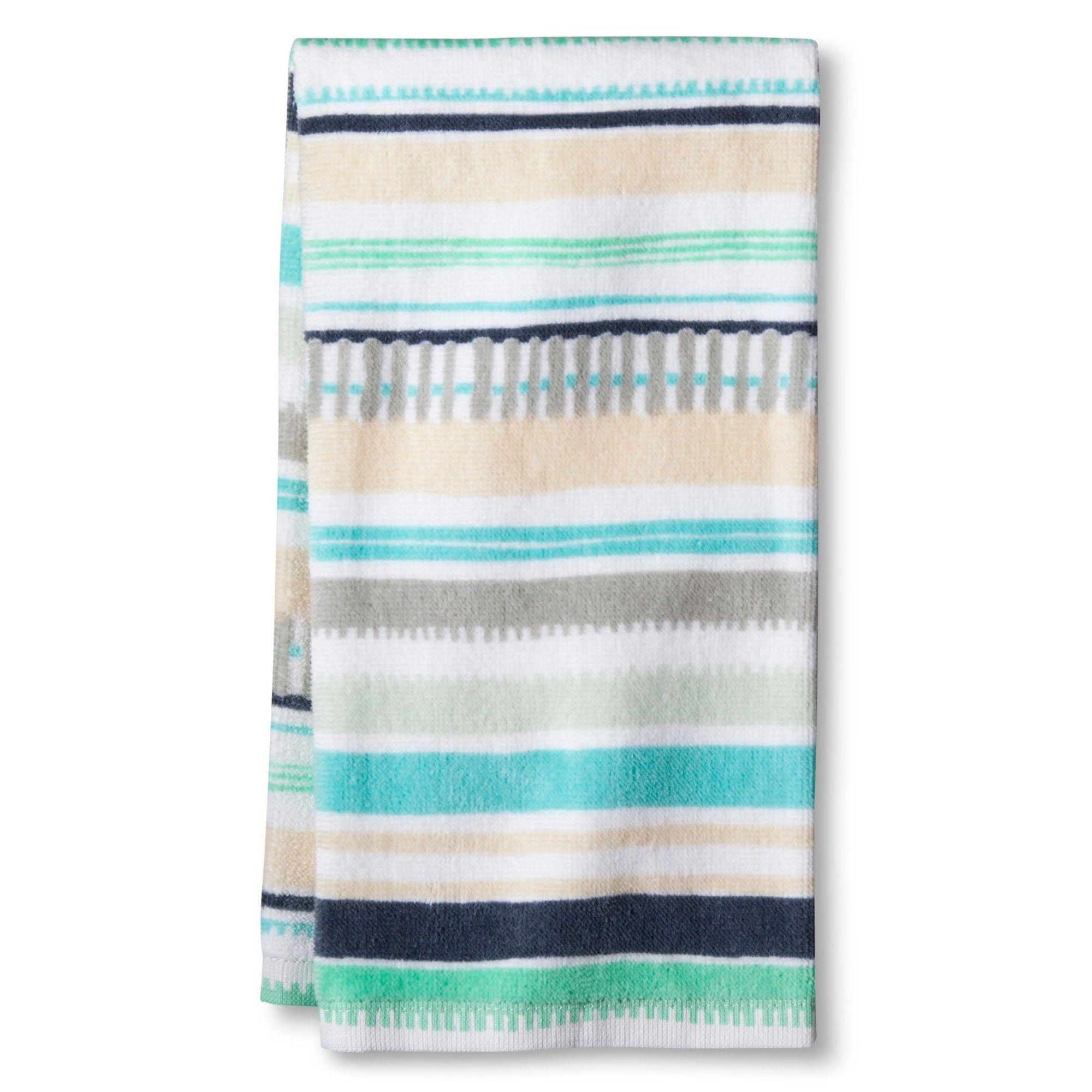 Blue Nbspmulti Stripe Nbspkitchen Towel Room Essentials Blue