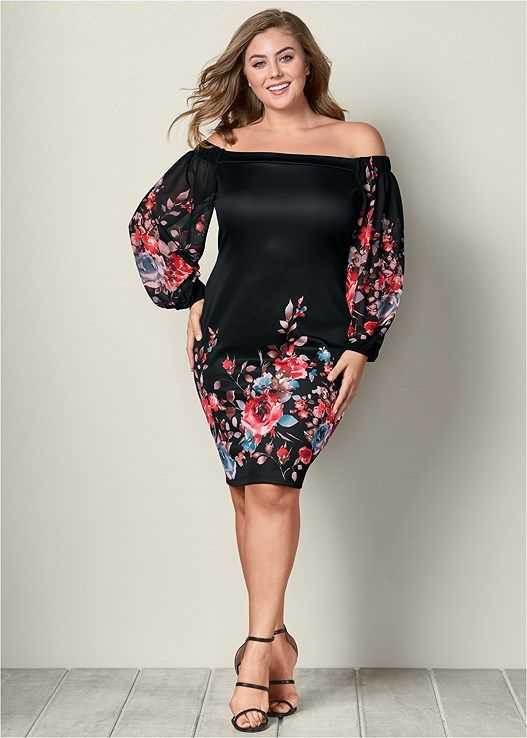 Floral print bodycon dress in 2019 | Wish List | Dresses, Trendy ...