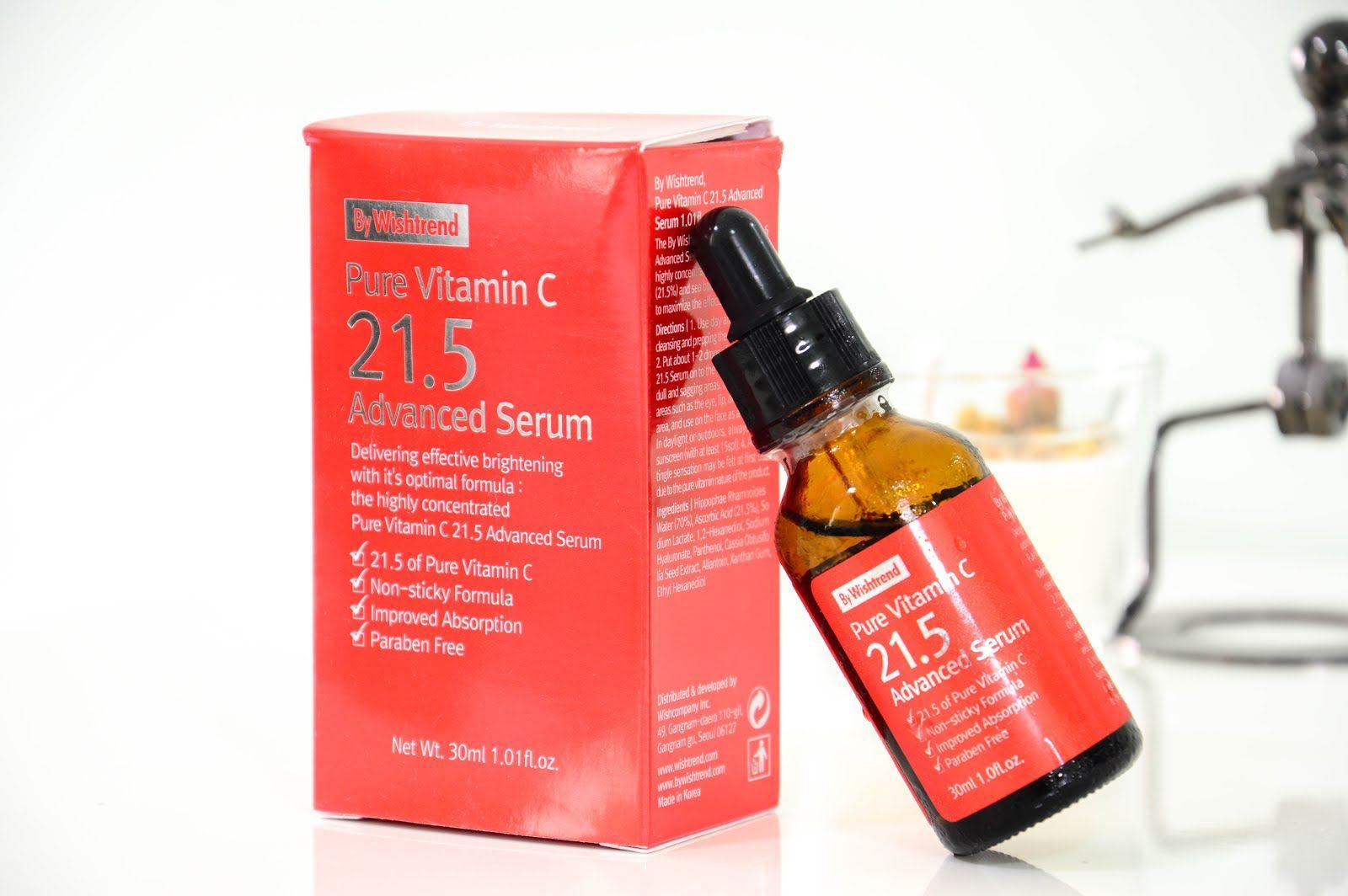 REVIEW By Wishtrend Pure Vitamin C 21.5 Advanced Serum
