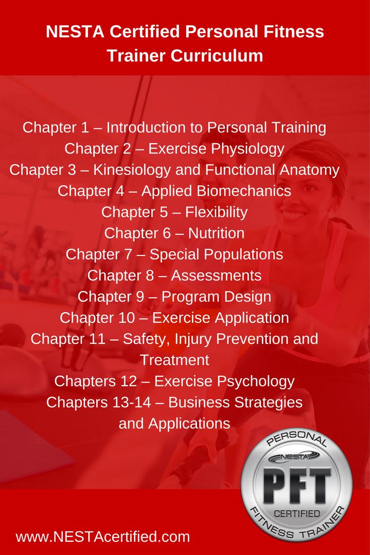 Nesta Certified Personal Fitness Trainer Curriculum Nesta Personal