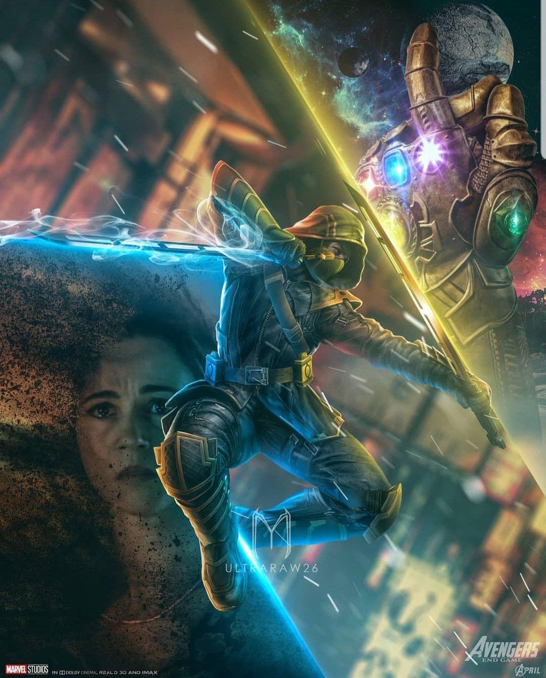 Avengers Endgame art \u2022 Ultraraw26