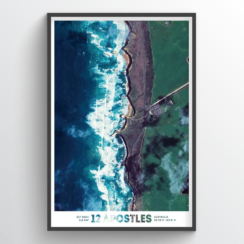 Twelve Apostles Earth Photography Our Earth Photographs Are Made From 30 Cm Multi Spectral Imagery Geek Speak W Earth Photography Unique Art Prints Art