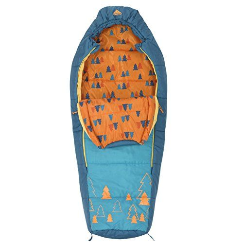 Kelty Woobie Sac de Couchage Fille S Orange
