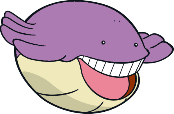 Wailmer | Our Shiny Pokemon | Pokémon, Disney characters ... Wailmer Pokemon