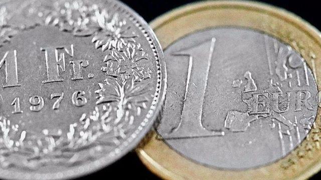 Le franc à un plus haut face à l'euro
