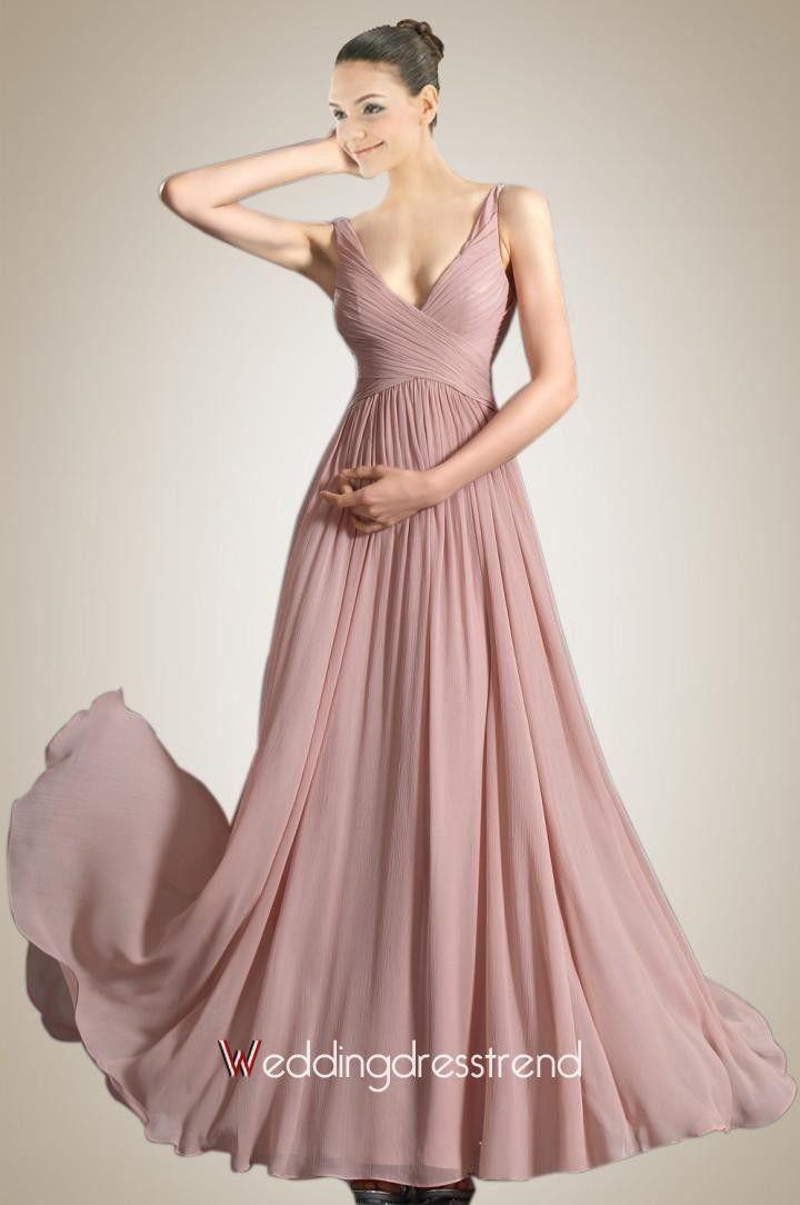 86131e82a5d5 139.98  Unique Spaghetti Neckline Zippered Chiffon Prom Event Dress ...