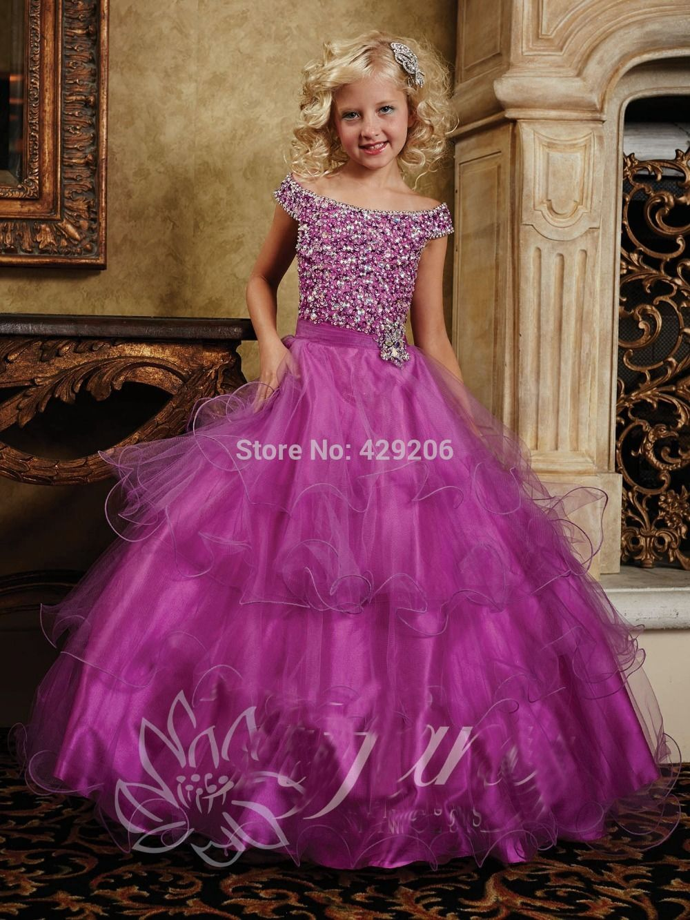 Amazing Dreamy Ball Gown Flower Girl Dresses With Scoop Sleeveless ...