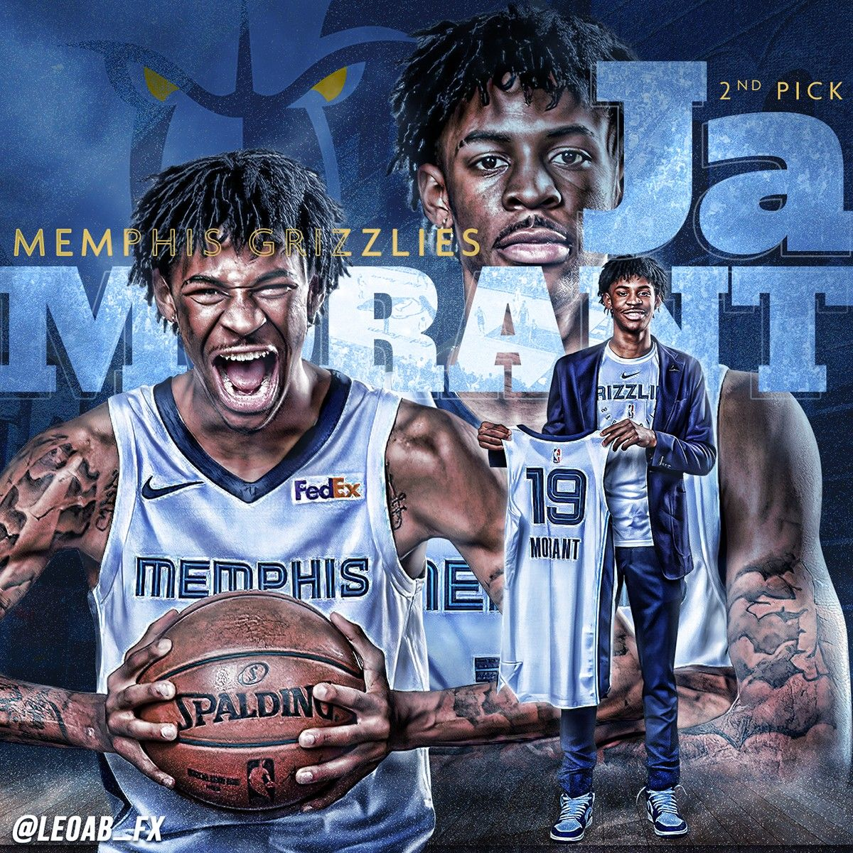 Pin by Cool Breeze on Ja Morant 12! Memphis grizzlies