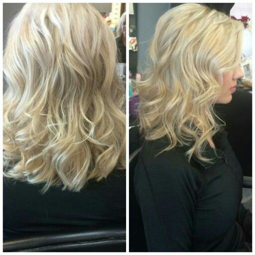 My hair, getting longer! Bring on sweet summertime! --Pink The Beauty Boutique; Inman, SC
