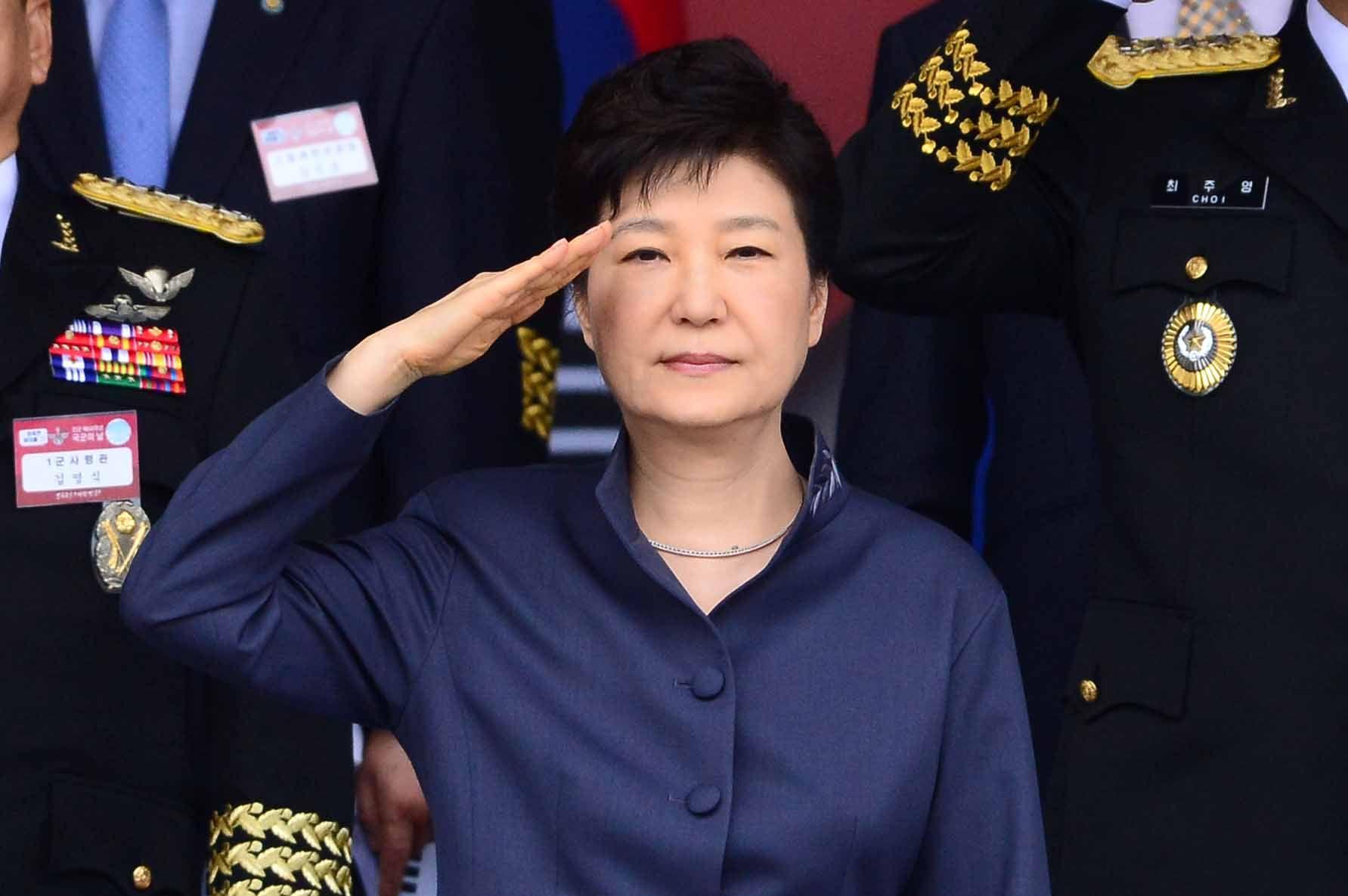 朴대통령 정 의장 만나 국회 잘해주시라 - 조선일보