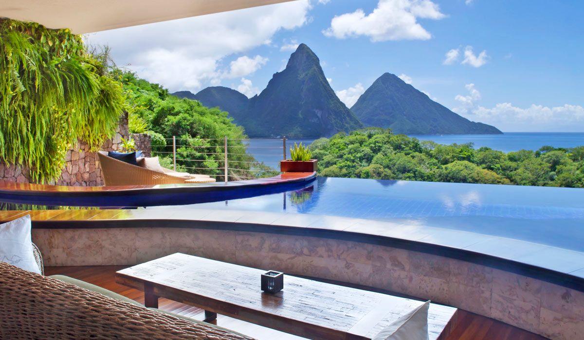 jade mountain - romantic luxury st lucia resort   fabulous hotels