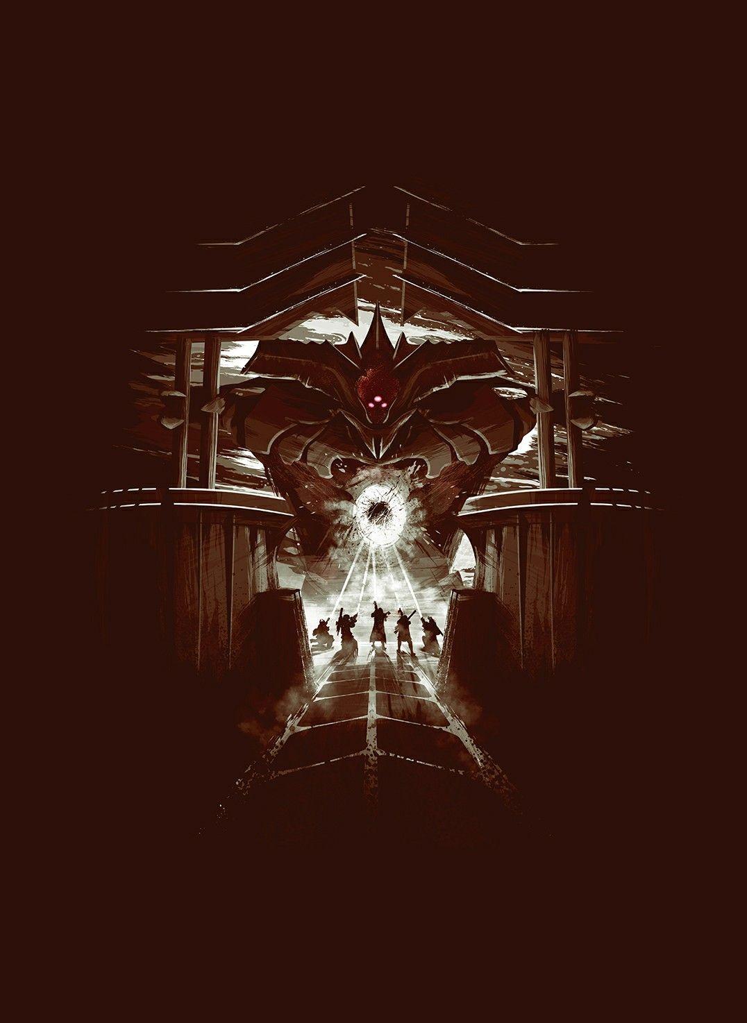 Kings Destiny Raid Fall Poster Art