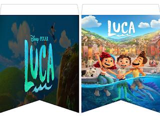 Kits Imprimibles Gratis Banderines Luca En 2021 Kits Imprimibles Gratis Bandera Kits Imprimibles