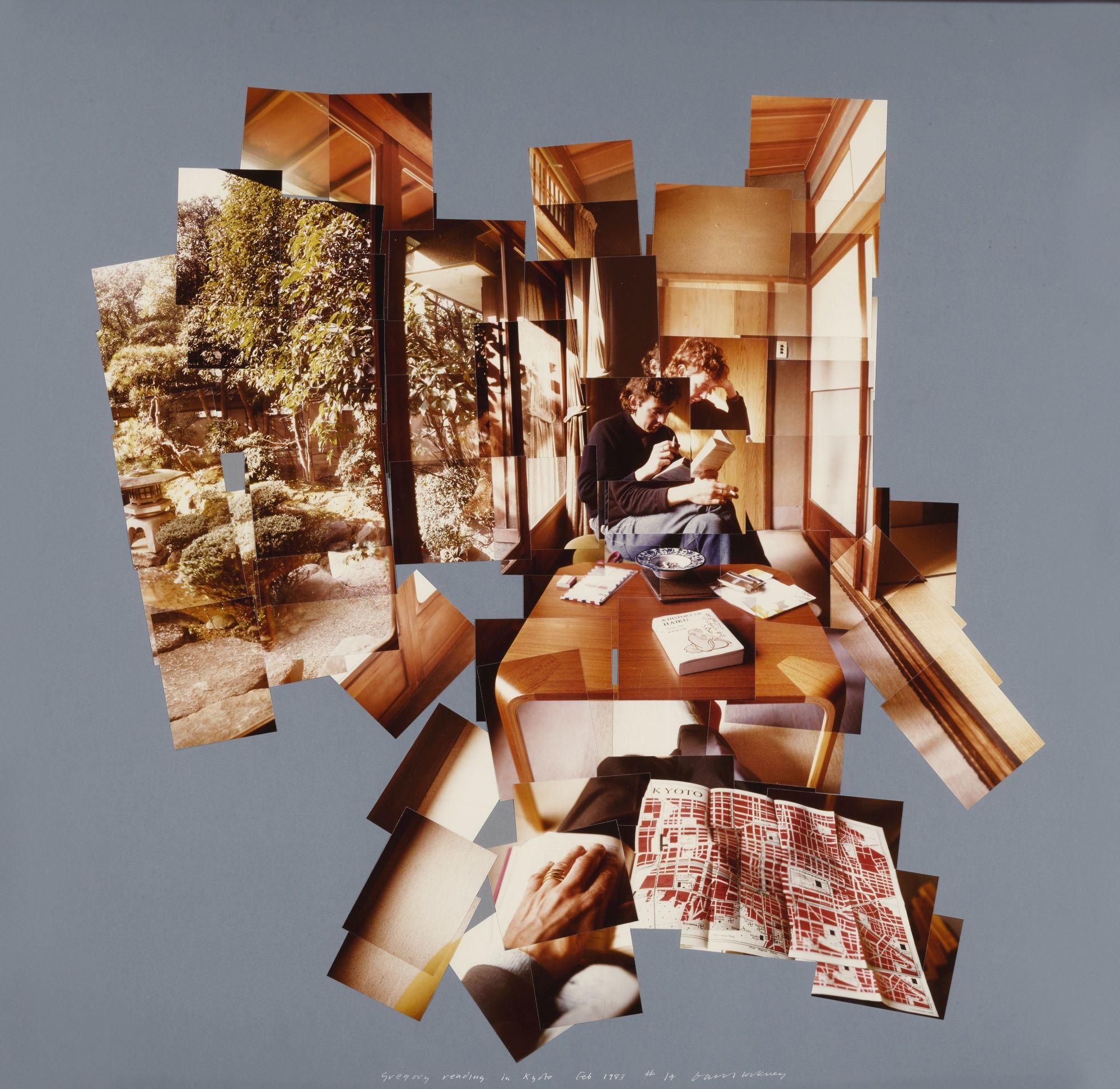 Piece together a david hockney collage — practical photography.