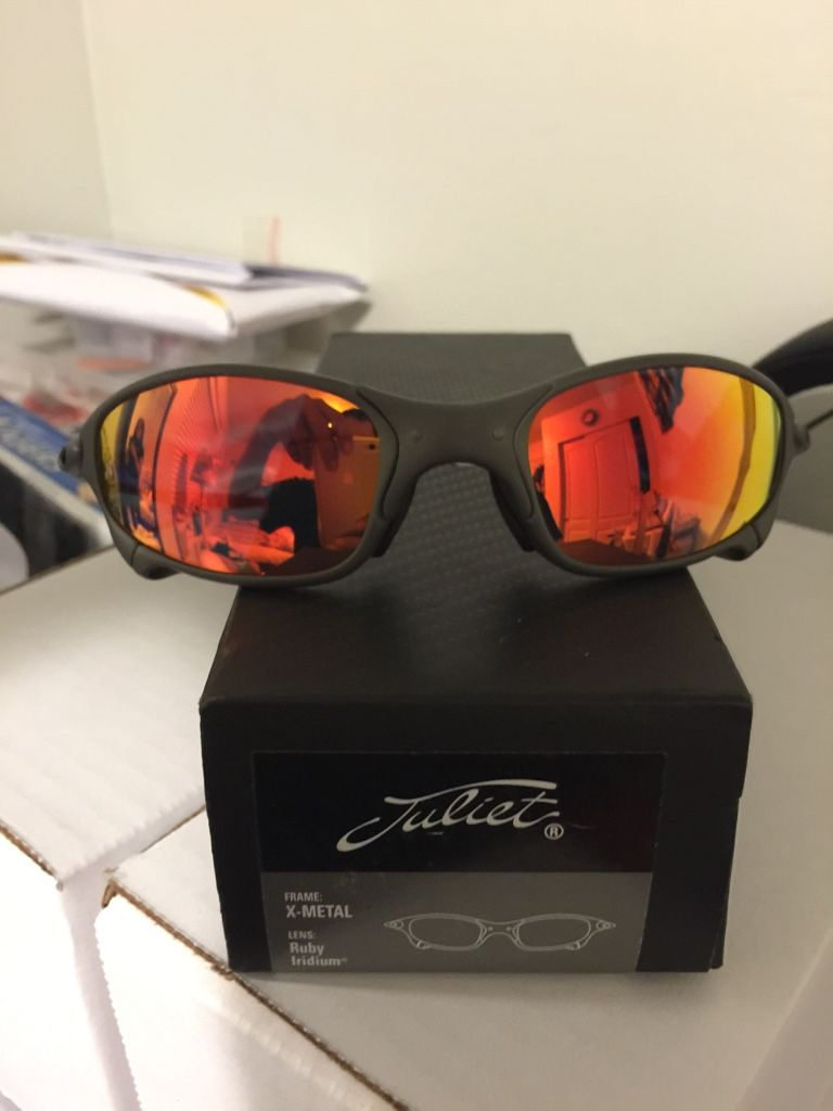 2b19ae8a3 Juliets w/Ruby Iridium | Save pins | Oakley sunglasses, Oakley ...
