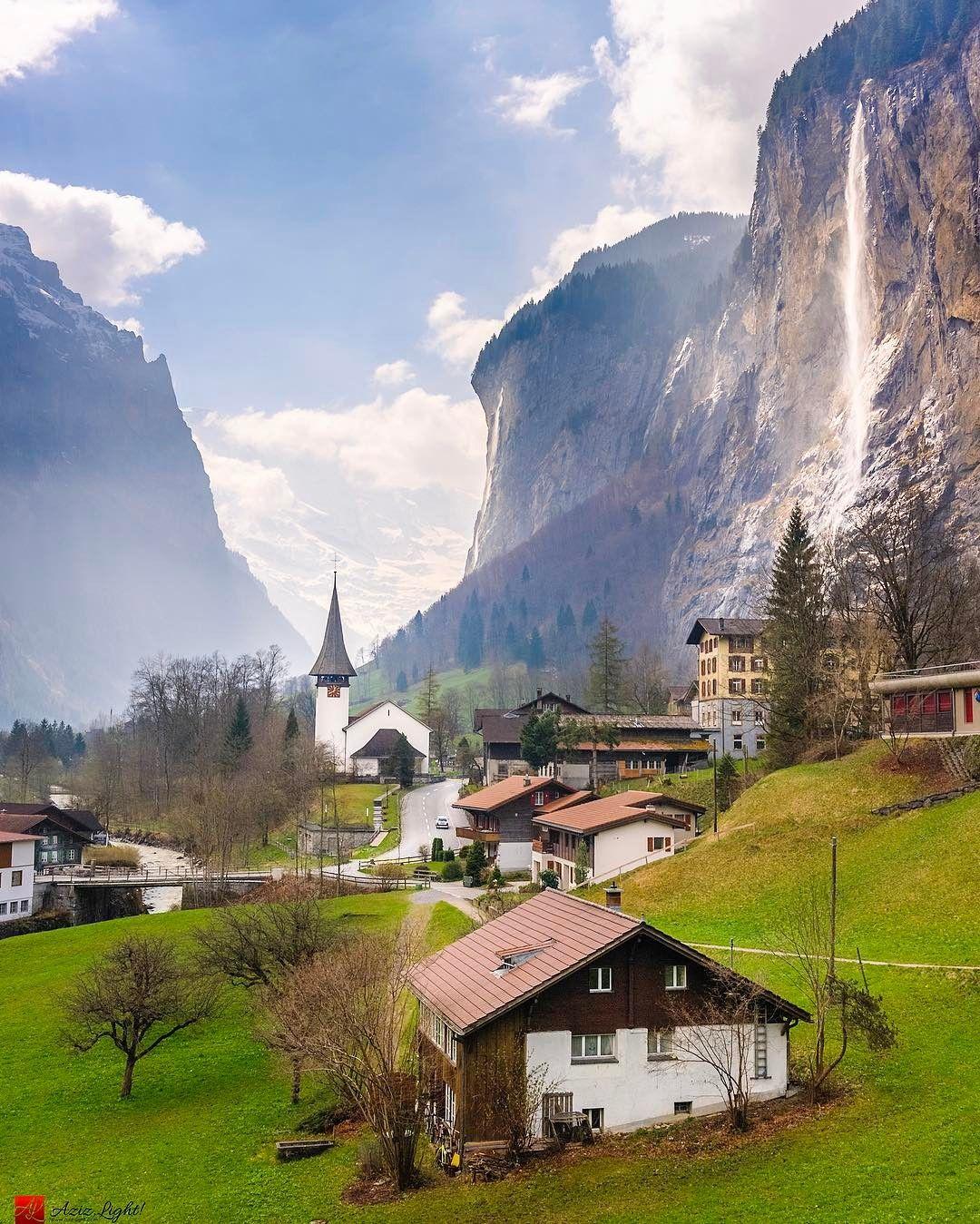Amazing Places To Stay Switzerland: Beautiful Landscapes Of Switzerland By Aziz Boussalem