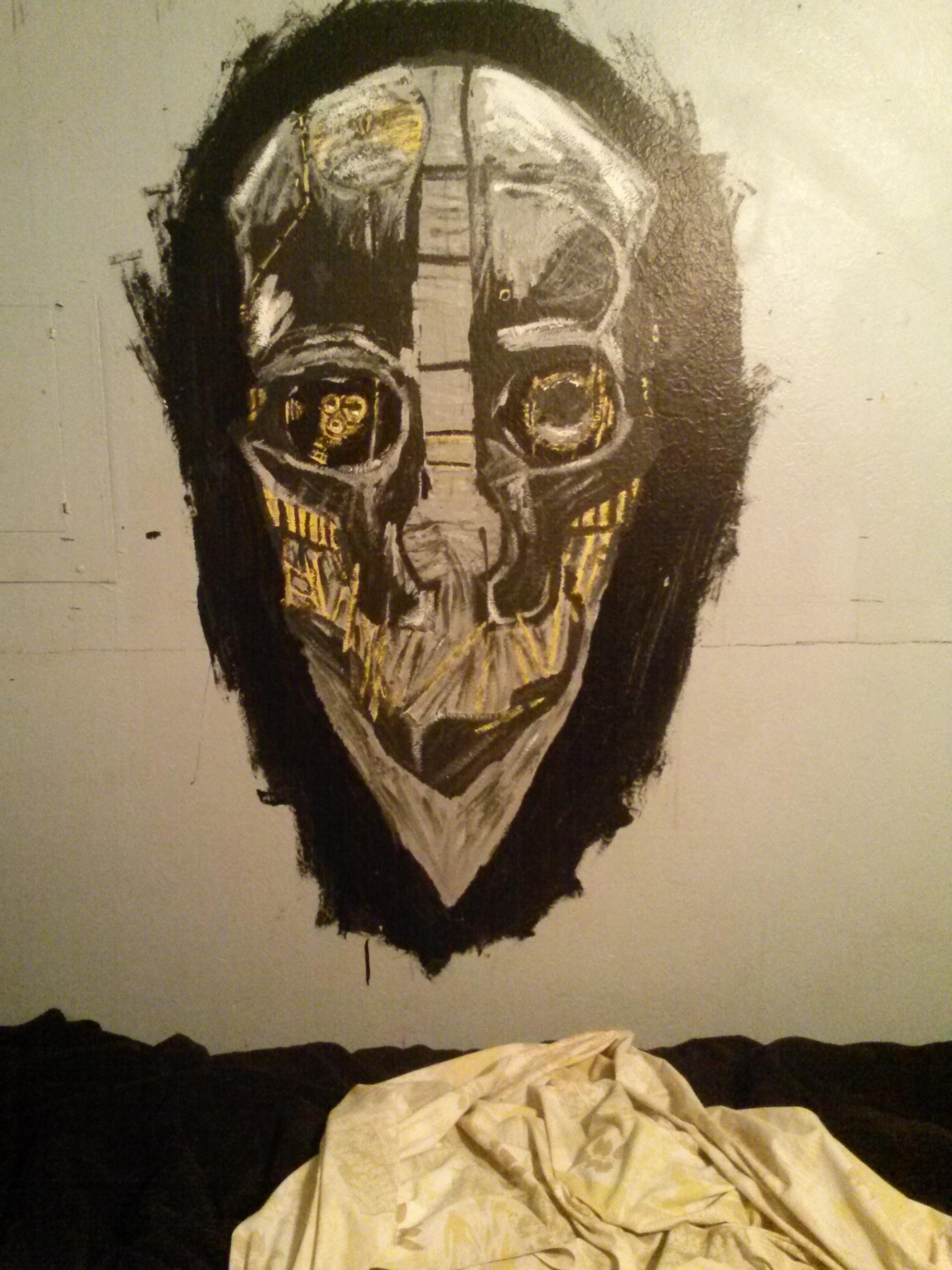 Dishonored wall art