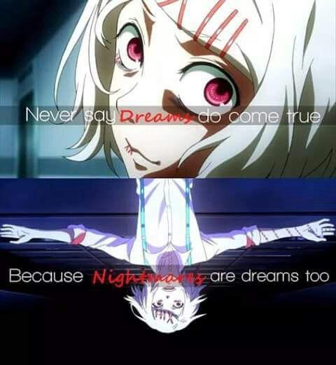 Juuzou Suzuya Tokyo Ghoul Crazy Anime Boy Tokyo Ghoul Quotes Anime Quotes Inspirational Anime Love Quotes