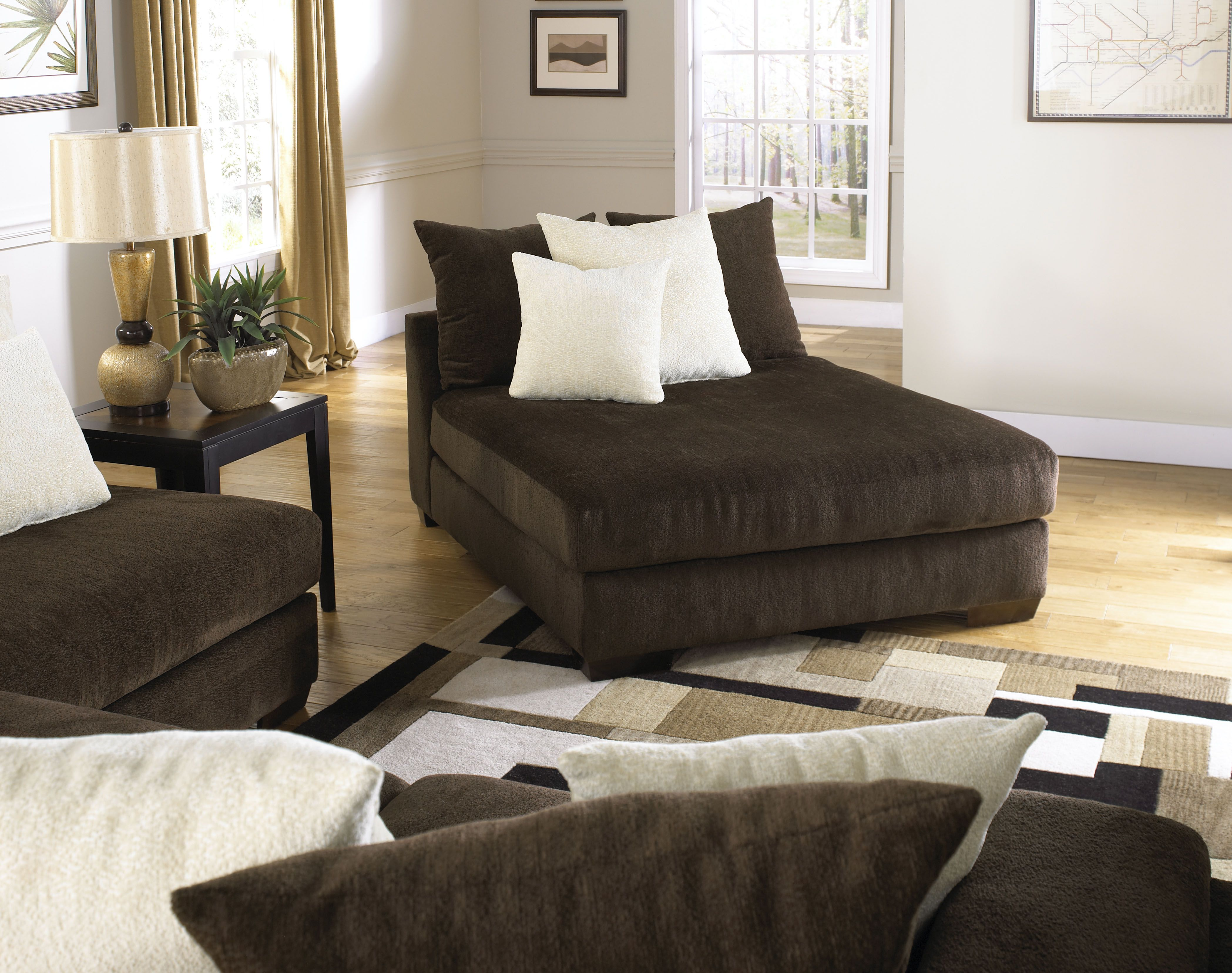 Axis Daybed Furniture Oversized Chaise Lounge Daybed